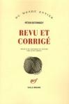 Péter Esterházy, Revu et corrigé publié par Gallimard, coll. Du Monde entier