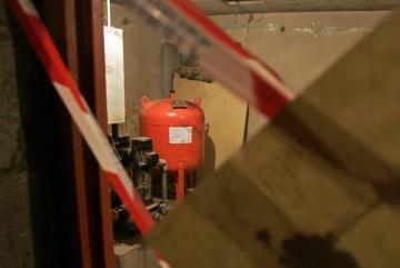 Image prise le 17 février 2006 de la cave de la rue Prokofiev à Bagneux où le jeune Ilan Halimi a été torturé