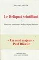 Olivier Larizza, Le Reliquat scintillant