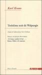 Karl Kraus, Troisième nuit de Walpurgis, avec une préface de Jacques Bouveresse