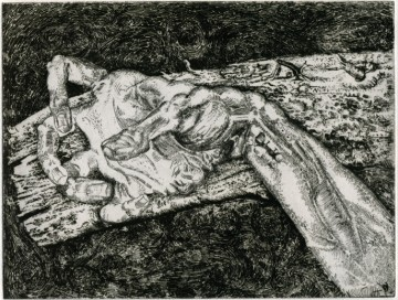 Jean-Pierre Velly, Main crucifiée, 1964