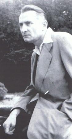 Paul Gadenne en 1953, à Cambo-les-Bains